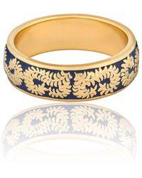 Vurchoo - Caleb Yellow Gold Vermeil Enamel Ring - Lyst