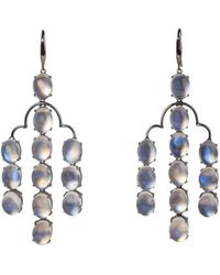 Mara Hotung - Moonstone And 18kt Black Gold Earrings - Lyst