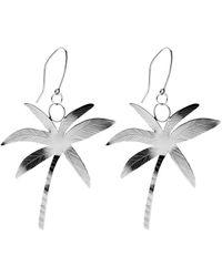 Susan Driver - Silver Sunrise Earrings | - Lyst