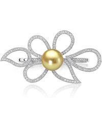BELPEARL - A Pearl Legacy | Mango Leaf Ring | Lyst