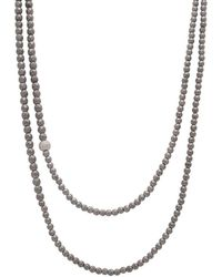 Faystone | Saturn Necklace | Lyst
