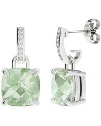 StyleRocks Onyx Emerald Cut Sterling Silver Drop Earrings hpDdyXo60