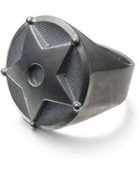 Gab McNeil - Wild Wild West Small Ring Oxidised Sterling - Lyst