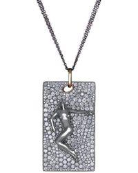 Maria Kovadi Fine Jewellery - Sleeping Beauty Pendant - Lyst