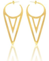 My Bling - Plated Sterling Silver Ice Cream Earrings - Lyst