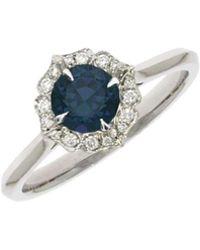 Flavie Michou - Dew Drop Blue Sapphire Ring - Lyst