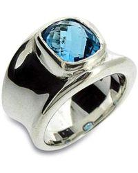 Will Bishop Molten Silver & Citrine Ring - UK G - US 3 3/8 - EU 45 1/4 NZyVDT9