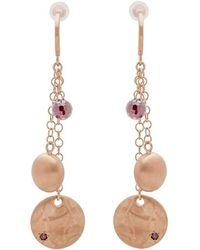 Mishanto London - Veneto Trilogy Earrings With Garnet - Lyst