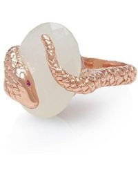 Alexandra Alberta - Gaia Moonstone Ring - Lyst