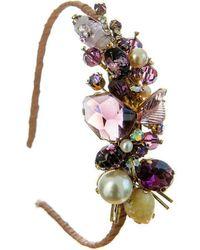 Krausz Jewellery - Violet Headpiece - Lyst