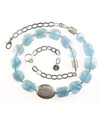 Sima Vaziry - Hope Aquamarine Necklace - Lyst
