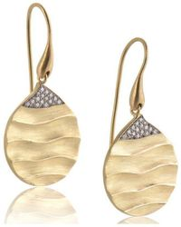 Biiju - Careless Rhythm Diamond Earrings - Lyst