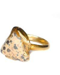 Rebecca Pratt Jewellery - Dalmatian Jasper Ring - Lyst