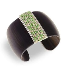 Hissia - Green Luz Cuff - Lyst