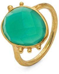 Donatella Balsamo - Amazonia Green Ring - Lyst