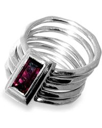 Will Bishop - Sterling Silver Kinetic Ring - Lyst