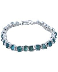 Reeves and Reeves - Rough Stone Apatite Bracelet - Lyst