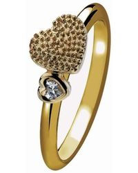 Virtue London - Two Hearts Ring - Lyst