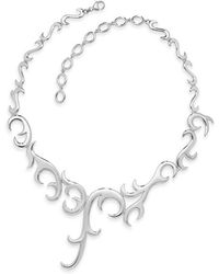 Lucy Quartermaine - Elements Large Air Necklace - Lyst