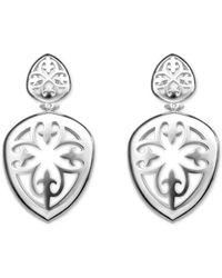 Its Silver - Earrings Carlsbad - Lyst