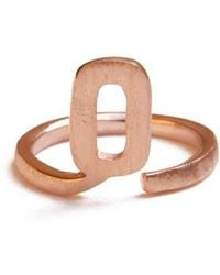 ZLABA - Alphabet - Q Ring - Lyst