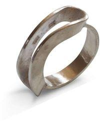Anna Moltke-Huitfeldt   A Silver Bridge Ring   Lyst