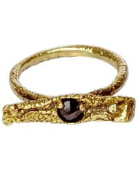 Susan Wheeler Design - Element Diamond Ring - Lyst