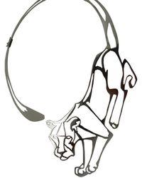 Harriet Bedford - Defiance Lioness Neckpiece - Lyst