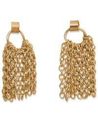 Sarah Macfadden Jewellery - Sterling Silver & 14kt Gold Sweetheart Earrings - Lyst