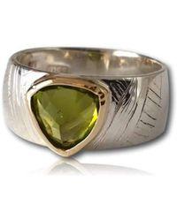 Gavin MacSporran Design - Peridot Ring - Lyst