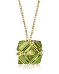 Paolo Costagli New York - Peridot Very Pc Pendant Necklace, Grande - Lyst