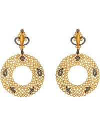 JS Noor - Hawa Collection - Circle Earrings - Lyst