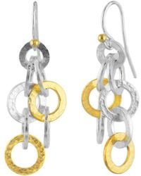 Gurhan - Hoopla Infinity Multi-layered Drop Earrings - Lyst