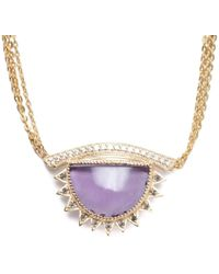 Congés - I Purify What I See Necklace - Lyst