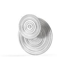 aka jewellery - Sterling Silver Double Sided Orbit Earrings - Lyst