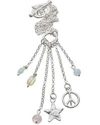 Kate Chell Jewellery - Peace And Star Necklace - Lyst