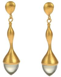 Militza Ortiz - H20 Mint Quartz Earring - Lyst