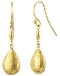 Gurhan - Delicate Drop Earrings - Lyst