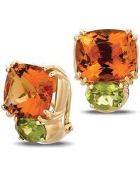 Gemlok for Gemveto - Bold Yellow Gold Earrings - Lyst