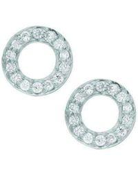 London Road Jewellery - Portobello White Gold Meridian Diamond Earrings - Lyst