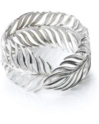 Serena Fox - Palm Sterling Silver Bracelet - Lyst