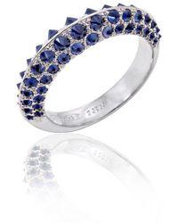 Alexander Jewell - Arctic Blue Sapphire Ring - Lyst