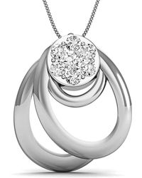 Diamoire Jewels Marvellous Designer Pendant in 18kt White Gold 41edkv