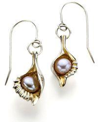 John S Roberts Artist-Jeweller - Shell Form I Earrings - Lyst