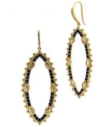 Freida Rothman | Spiked Harlequin Drop Earrings | Lyst