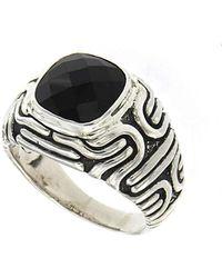 Samuel B. - Imperial Bali Black Onyx Ring In Sterling Silver - Lyst