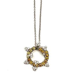 DreamChoice Jewelry - 18kt White Gold Dream Necklace - Lyst
