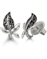 HERA - Vine Stud Earrings - Lyst