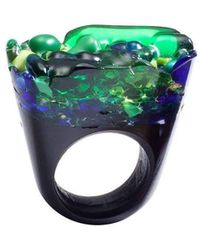 Pasionae | Murano Ring Opaque Base - Piety | Lyst