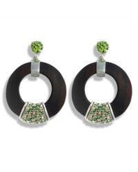 Hissia - Green Luz Earrings - Lyst